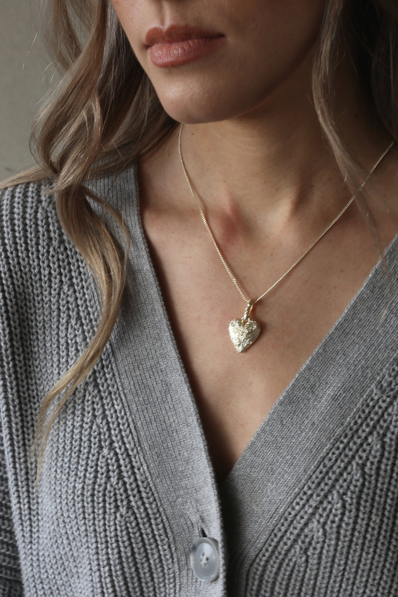 Courage Necklace Gold