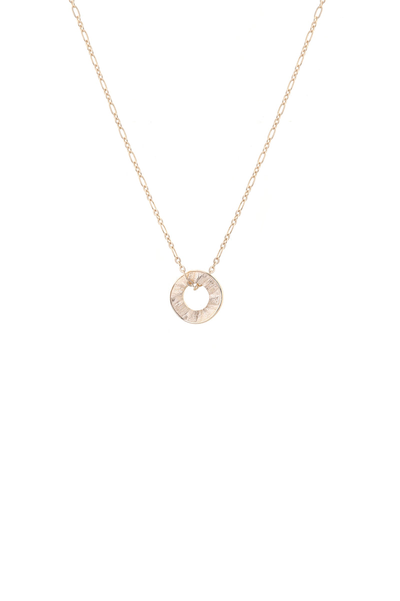 Sunrise Necklace Gold