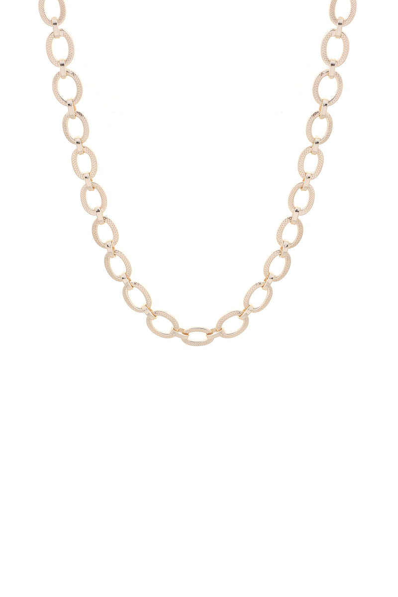 Harbour Necklace Gold