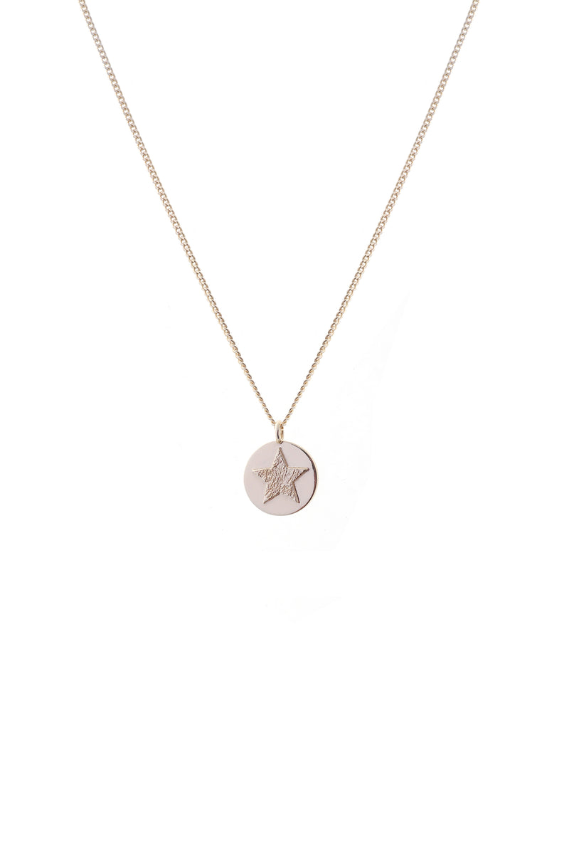 Sky Necklace Gold