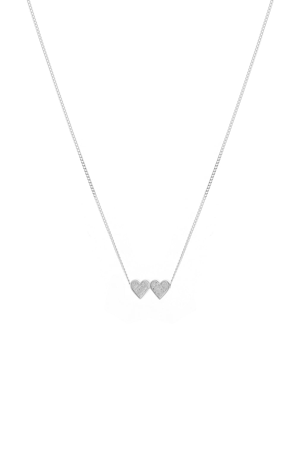 Heartbeat Necklace Silver