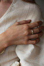 Rope Ring Gold