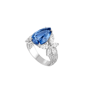 Bague Jardin Secret - Or blanc