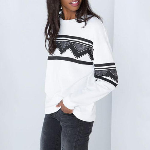 Round Neck  Ikat Hoodies