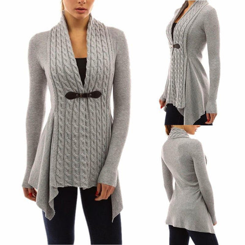Sweater Cardigan Long Sleeve Jacket