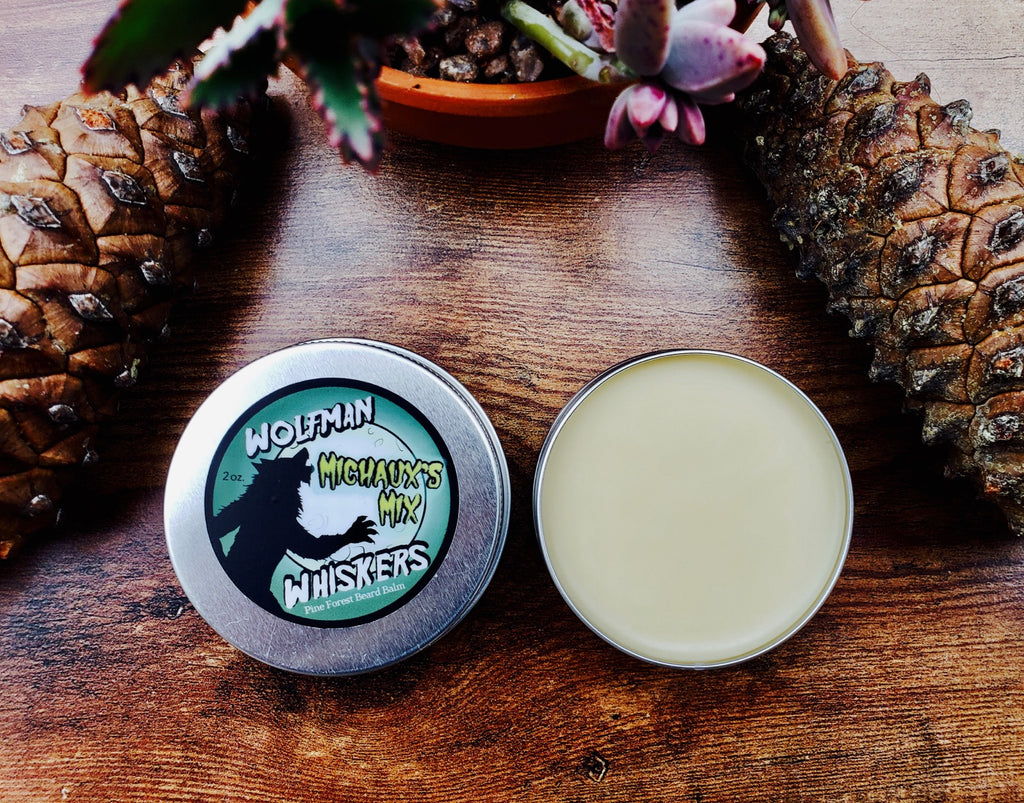 Michaux's Mix Pine Forest-Scented Beard Balm