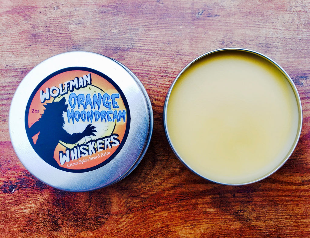 Orange Moondream Beard Balm