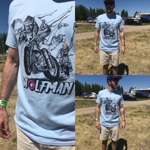 Wolfman Motorcycle T-Shirt