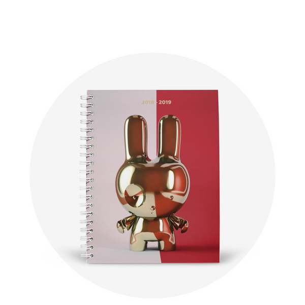 Planner / Gold Bunny