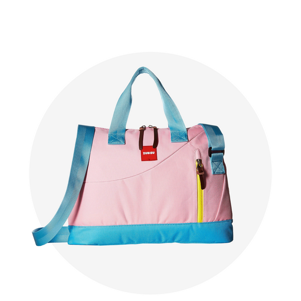 Laptop Bag/ Pink Aqua