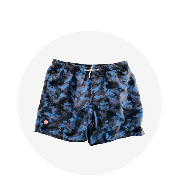 Swim Short / Blue Camo