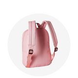 Small Backpack / Pink Aqua