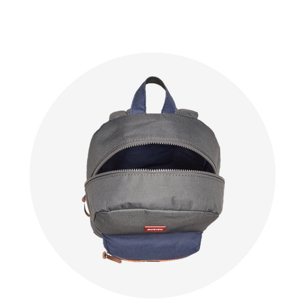 Small Backpack / Grey Navy