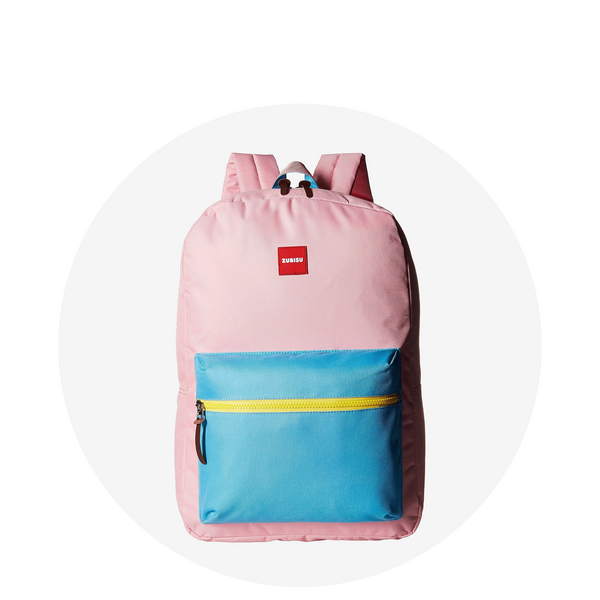 Regular Backpack / Pink Aqua