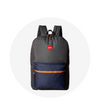 Regular Backpack / Grey Navy