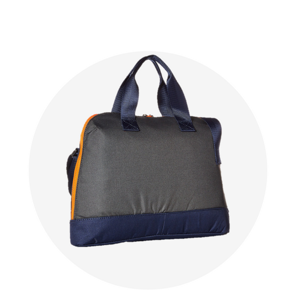 Laptop Bag/ Grey Navy