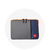 Laptop Sleeve / Grey Navy