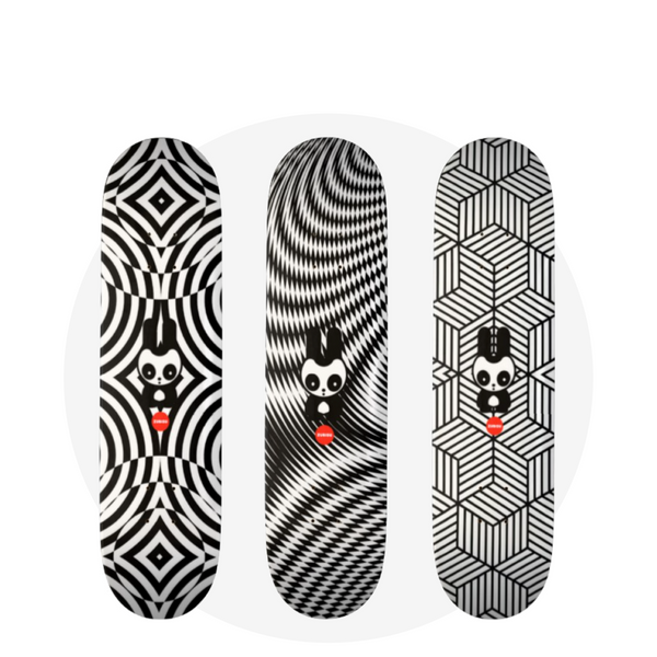 Skateboard (Set of 3)