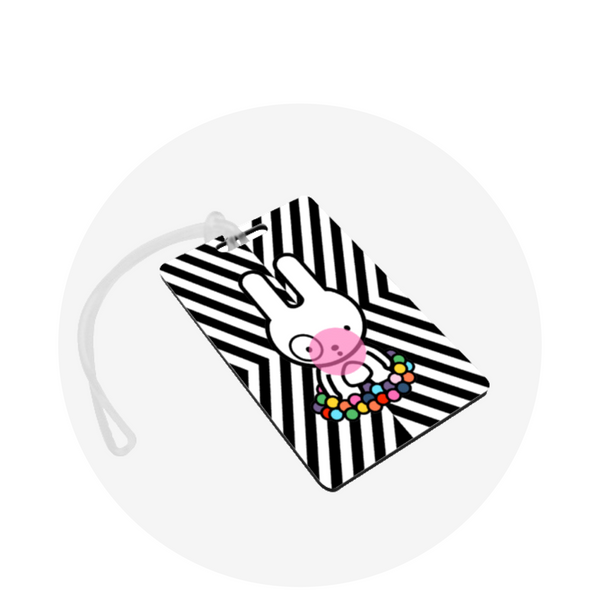 Luggage Tag / Bubblegum