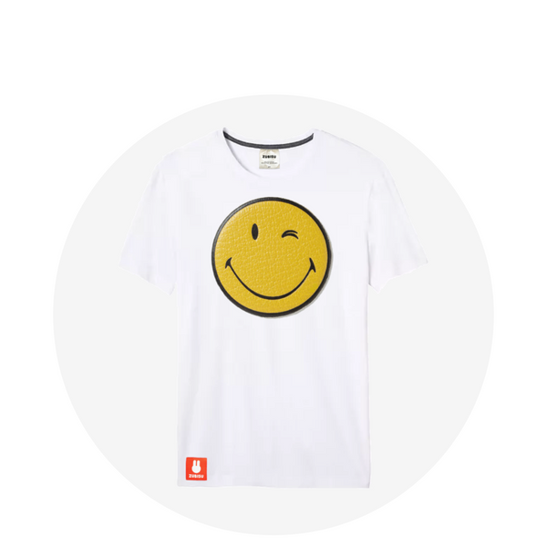 Smiley / White