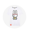 Hip Hopping Rapbit / White