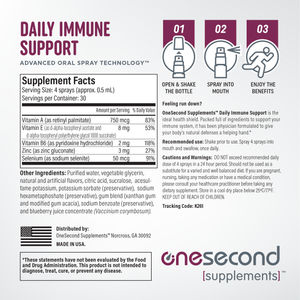 Immune Support Vitamin Spray