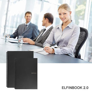 ELFIN BOOK 2.0 - Bloc-Notes Digital Réutilisable à l'Infini-LiliKdo