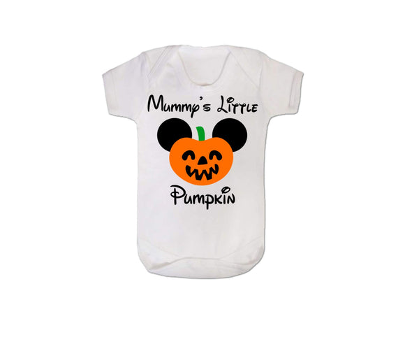 Mummy's Little Pumpkin Baby Vest