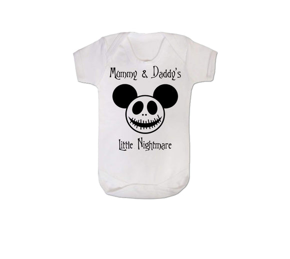Mummy & Daddy's Little Nightmare Baby Vest