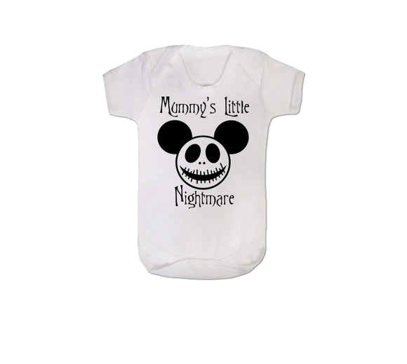 Mummy's Little Nightmare Baby Vest