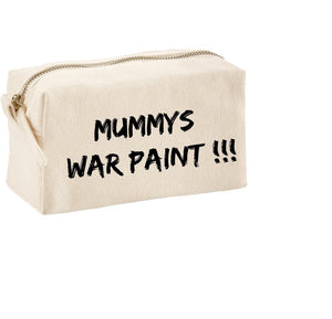 Mummy's War Paint Make‑Up Bag