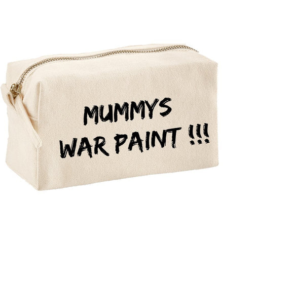 Mummy's War Paint Make-up Bag