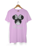 Glitter Minnie Castle Personalised T-Shirt