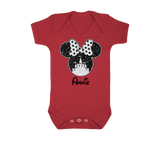 Minnie Castle Personalised Baby Vest