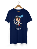 Boys Pirate T-Shirt Personalised with Name