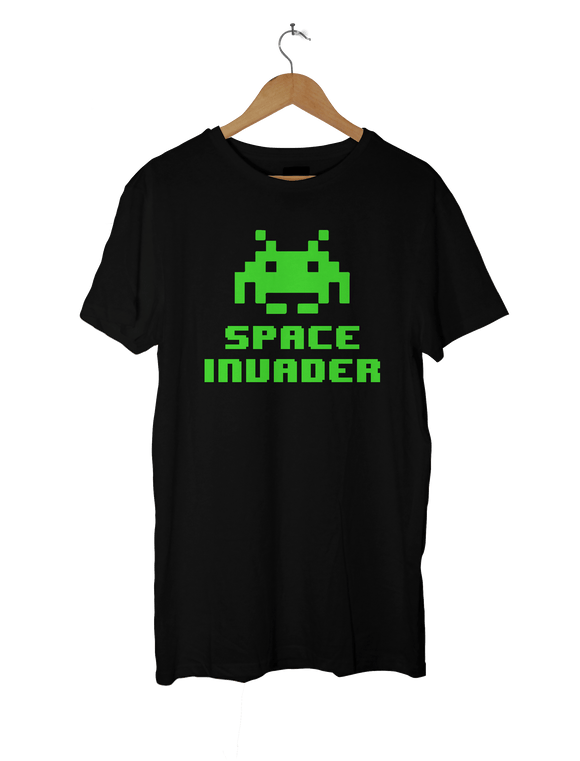 Space Invaders T-Shirt - 8 Bit Gift Idea - Perfect for Retro Gamer Fans