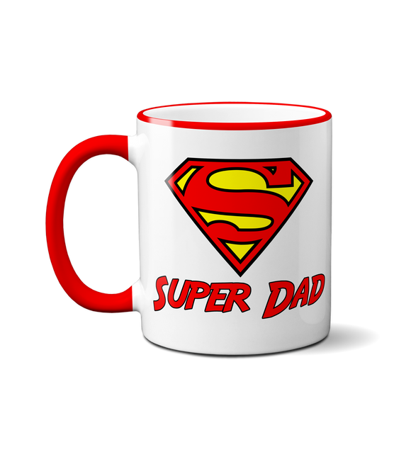 Super Dad Mug - Funny Novelty Fathers Day Gift Idea Coffee Cup