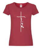 Ladies Faith T-Shirt with Crucifix Motif