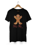 Herby Designs Funny Angry Gingerbread T-Shirt - Perfect Christmas or Birthday Present