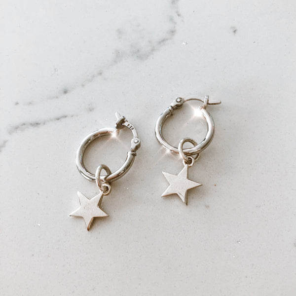 The Silver Yasmine Earring - Small