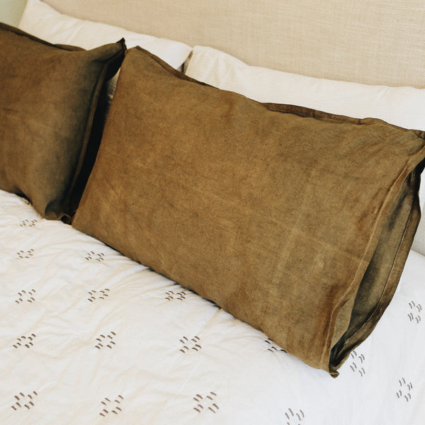 Linen Overberg Pillowcases by Beagle & Basset