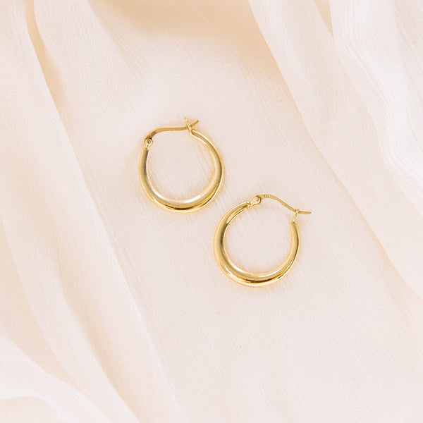 The Gold Therese Earring