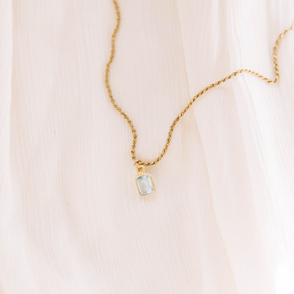 The Blue Topaz Necklace