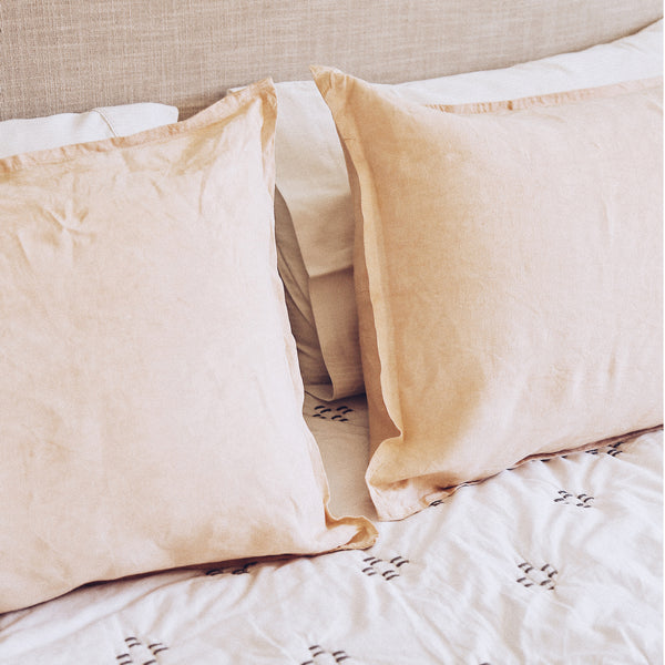 Linen Lowveld Pillowcases by Beagle & Basset