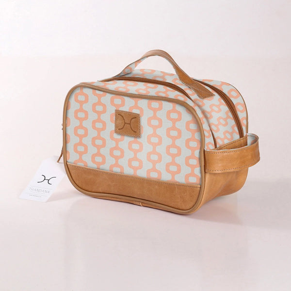 Vanity Bag in Peach