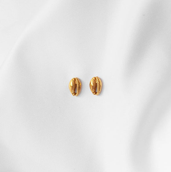 Cowrie Studs by Coast the Label
