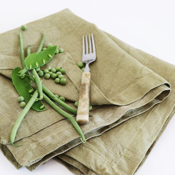 Overberg Natural Napkins by Beagle + Basset for Jimnojean