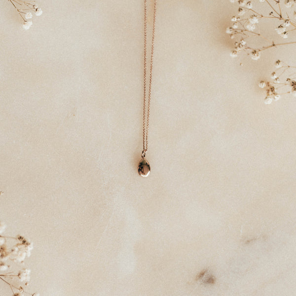 The Jimnojean Intention Pendant in 9ct Rose Gold