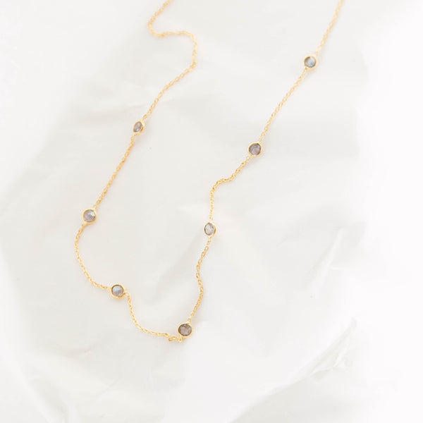 Multi-stone Rylee necklace