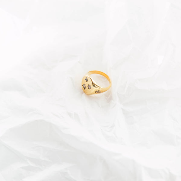 The Calvin Ring in Monochrome